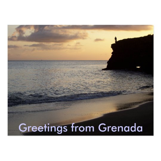 Greetings from Grenada Postcard