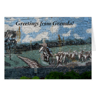 Greetings from Grenola! Card