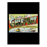 Greetings from Gulfport Mississippi Postcards