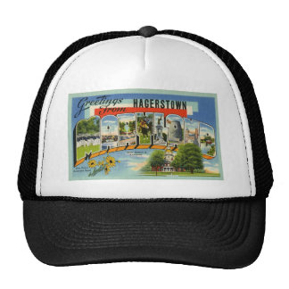 Greetings from Hagertown Maryland Trucker Hat