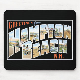 Greetings from Hampton Beach, New Hampshire! Mouse Pad