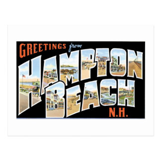 Greetings from Hampton Beach, New Hampshire! Postcard