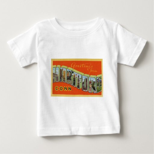 Greetings from Hartford Connecticut T Shirt