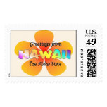 Greetings from Hawaii Stamps