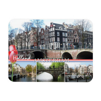 Greetings from Holland - Amsterdam Flexible Magnet