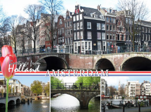 Netherlands postcards zazzle greetings from holland amsterdam postcard m4hsunfo