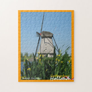 Greetings from Holland Windmill Puzzle
