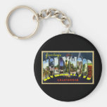 Greetings from Hollywood California Key Chains