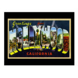 Greetings from Hollywood California Post Card