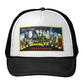 Greetings from Hollywood California Trucker Hat
