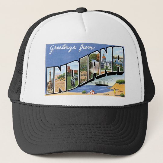 Greetings from Indiana! Trucker Hat