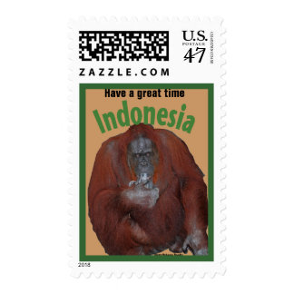 Greetings from Indonesia Stamp