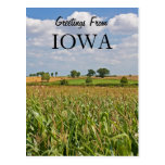 Greetings From Iowa Post Cards