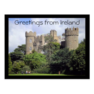 Greetings from Ireland postcard