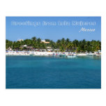 Greetings from Isla Mujeres, Mexico Postcard