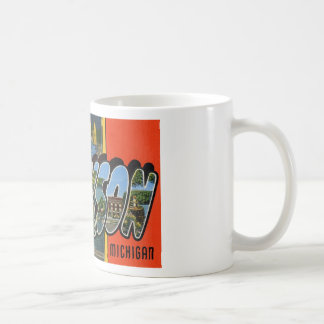 Greetings from Jackson Michigan Coffee Mug