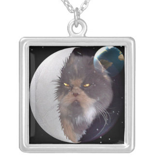 Greetings from Jolie Mama Square Pendant Necklace