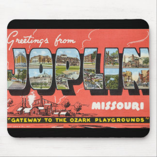 Greetings from Joplin Mouse Pads