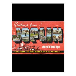 Greetings from Joplin Postcard