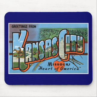 Greetings from Kansas City! Mouse Pad