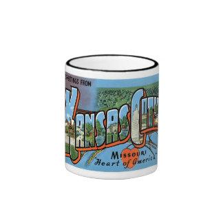 Greetings from Kansas City! Ringer Mug