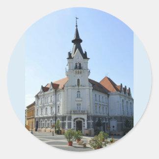 Greetings from Kaposvar, Hungary Stickers