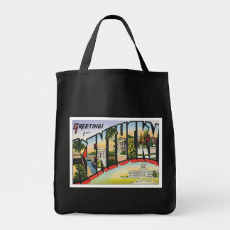 Greetings From Kentucky Canvas Bag