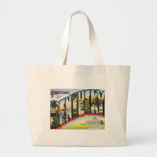 Greetings From Kentucky Tote Bags
