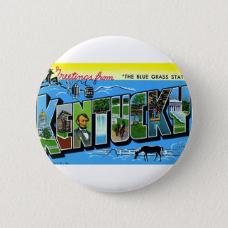 Greetings From Kentucky Button