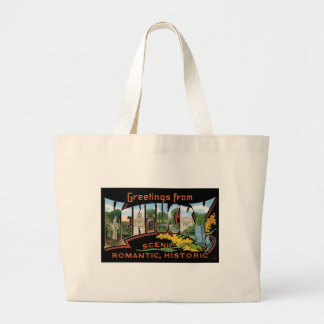 Greetings from Kentucky Historic Romantic Vintage Bags