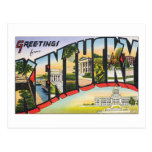 Greetings from Kentucky Post Cards