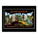 Greetings from Kentucky! Postcard