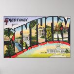 Greetings From Kentucky, Vintage Print
