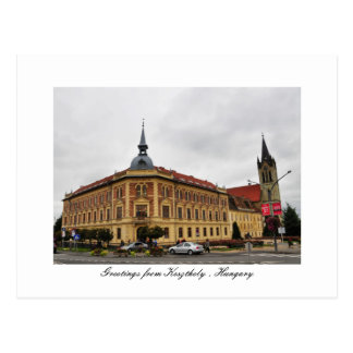 Greetings from Keszthely , Hungary Postcard