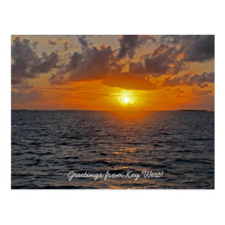 Greetings from Key West postcard
