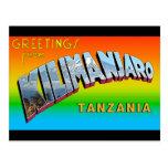 Greetings from Kilimanjaro Postcard