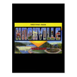Greetings from Knoxville Tennessee Postcard