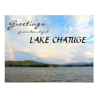 Greetings from Lake Chatuge Postcard