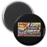 Greetings from Lake George New York 2 Inch Round Magnet