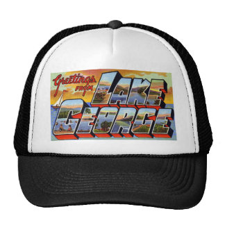 Greetings from Lake George New York Trucker Hat