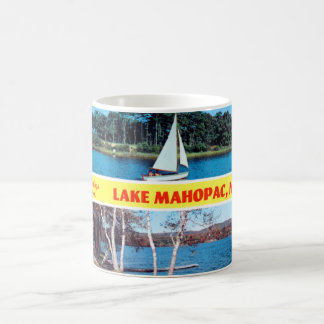 Greetings from Lake Mahopac Mug