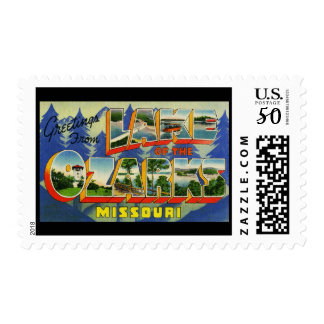 Greetings from Lake of the Ozarks Missouri Postage