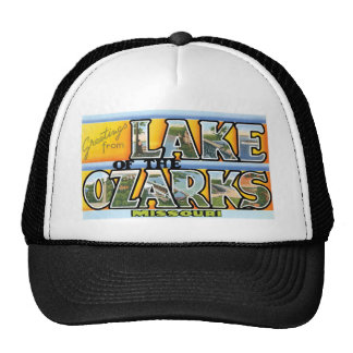 Greetings from Lake of the Ozarks! Trucker Hat