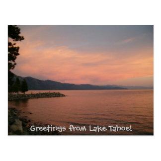 Greetings from Lake Tahoe! Postcard