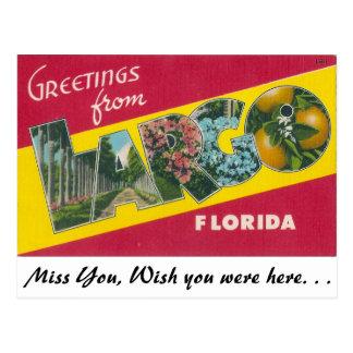 Greetings from Largo, Florida Postcard
