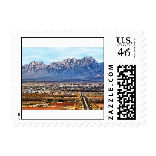 Greetings from Las Cruces,NM First Class Stamp