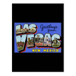Greetings from Las Vegas New Mexico Post Card
