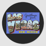 Greetings from Las Vegas New Mexico Sticker