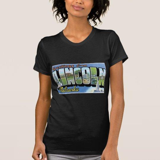 Greetings from Lincoln, Nebraska! T-Shirt