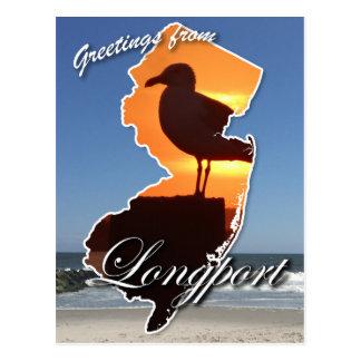 Greetings from Longport Postcard